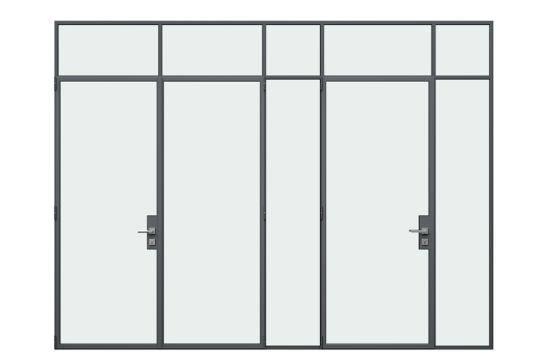 MHB Floating lock case doors