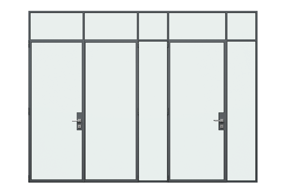 MHB Floating lock case doors