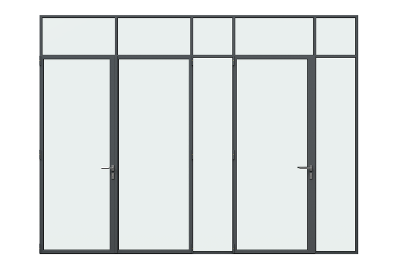 MHB Lock mullion doors