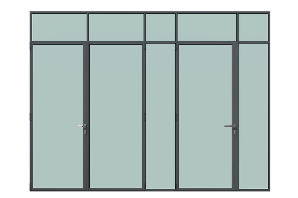 MHB Lock mullion doors