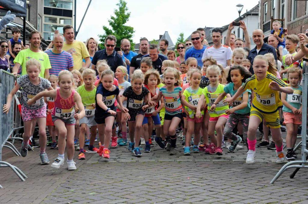 MHBetuweloop 2019 met kinderen als deelnemers