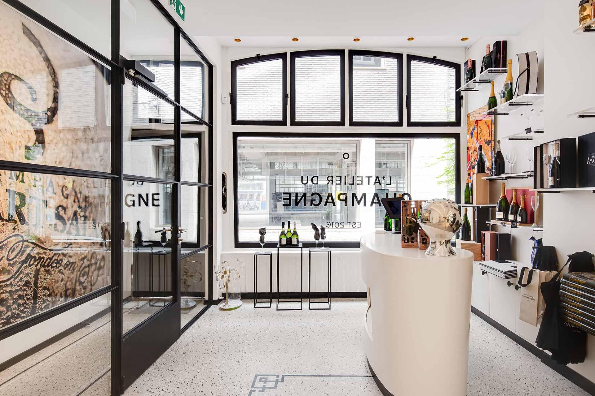 L'Atelier du Champagne, Amsterdam, NL (1)